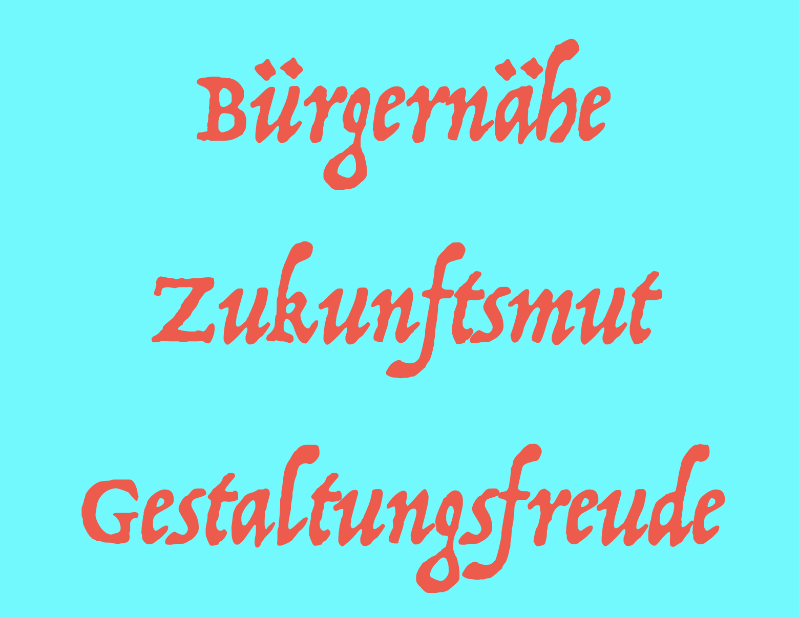 DIE ZUKUNFTSSTRATEGIE DER BONNER CDU